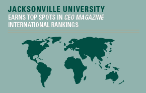 Our MBA program has earned top spots in CEO Magazine's international rankings.