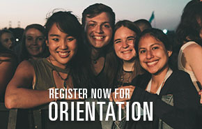 Register now to attend Orientation.