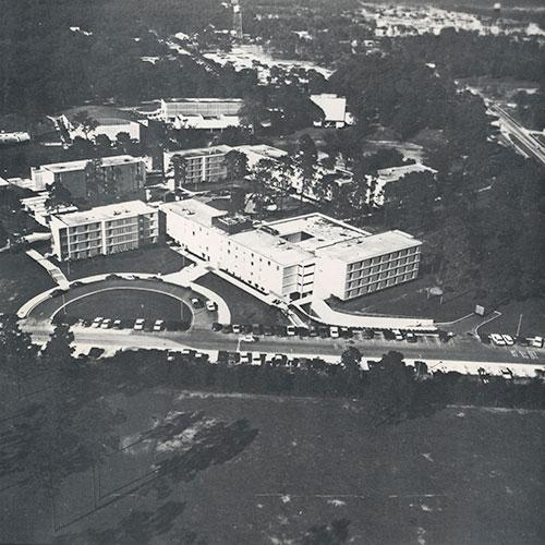 Residence Halls in 1970.