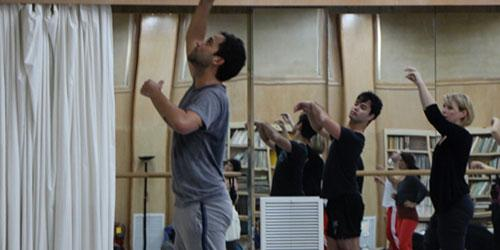 Guest artist Mario Zambrano dance workshop. Watch his residency interview.
