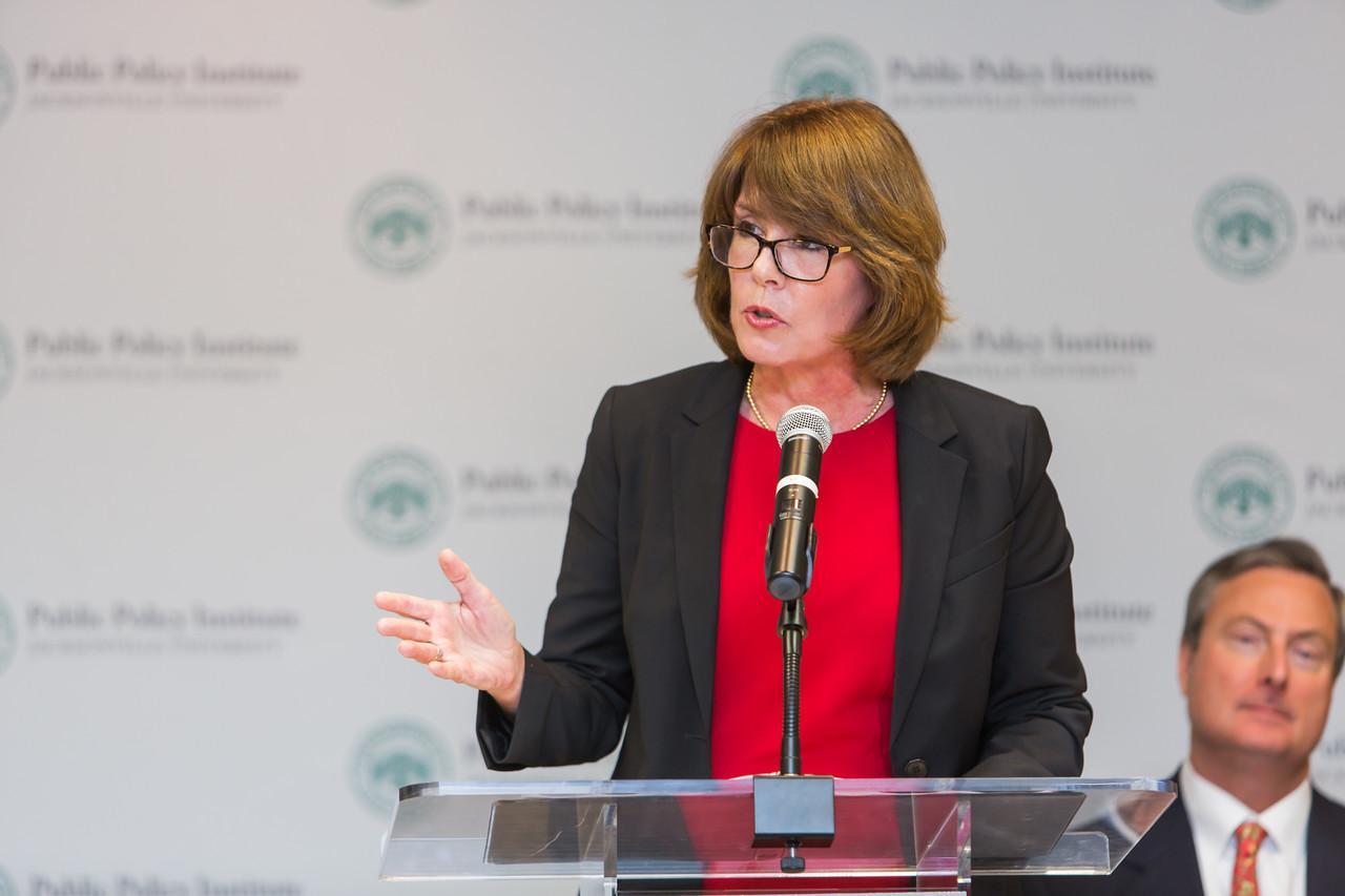 Former U.S. Representative Gwen Graham