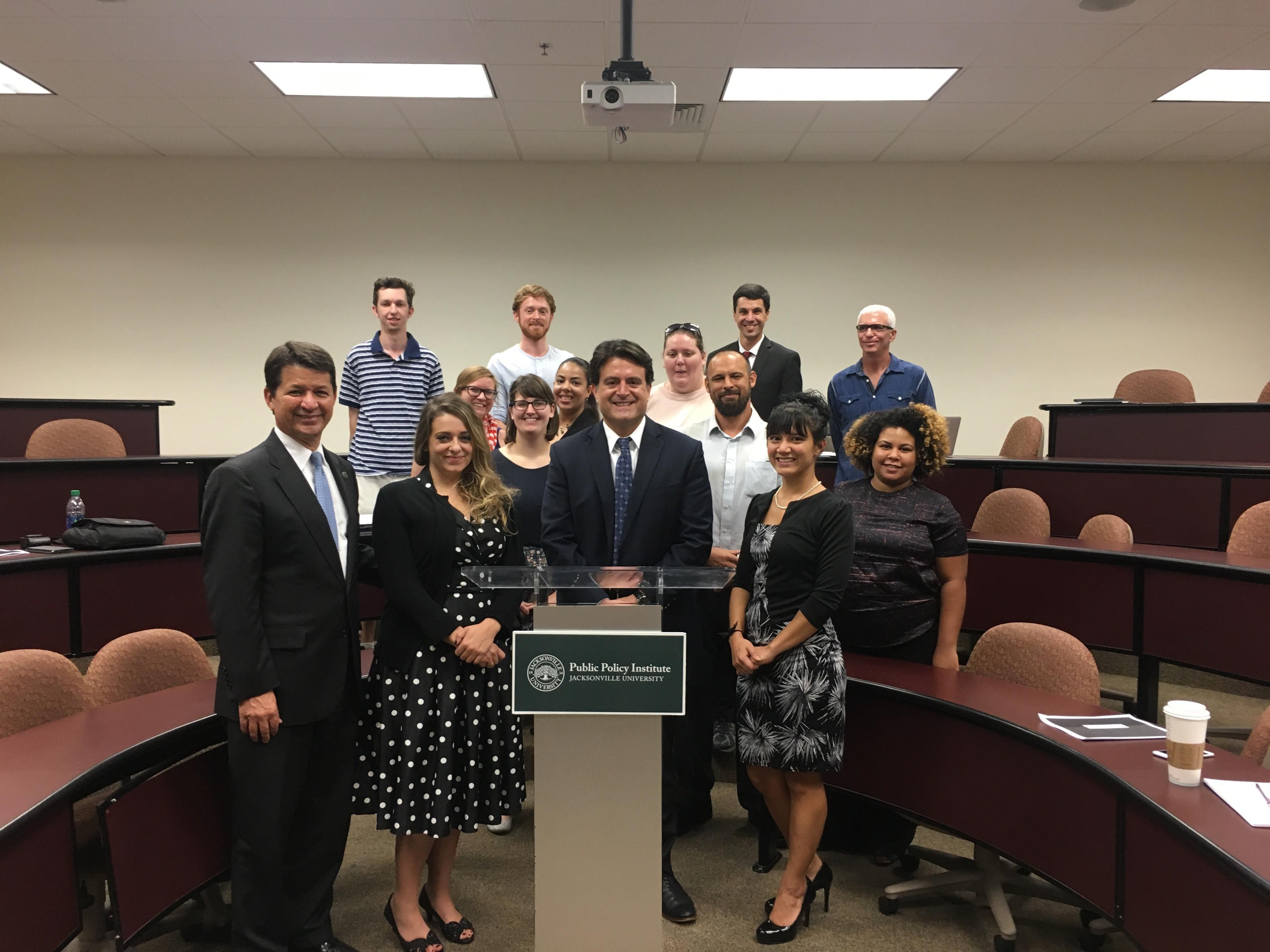 Jason Gabriel, Esq., General Counsel, City of Jacksonville