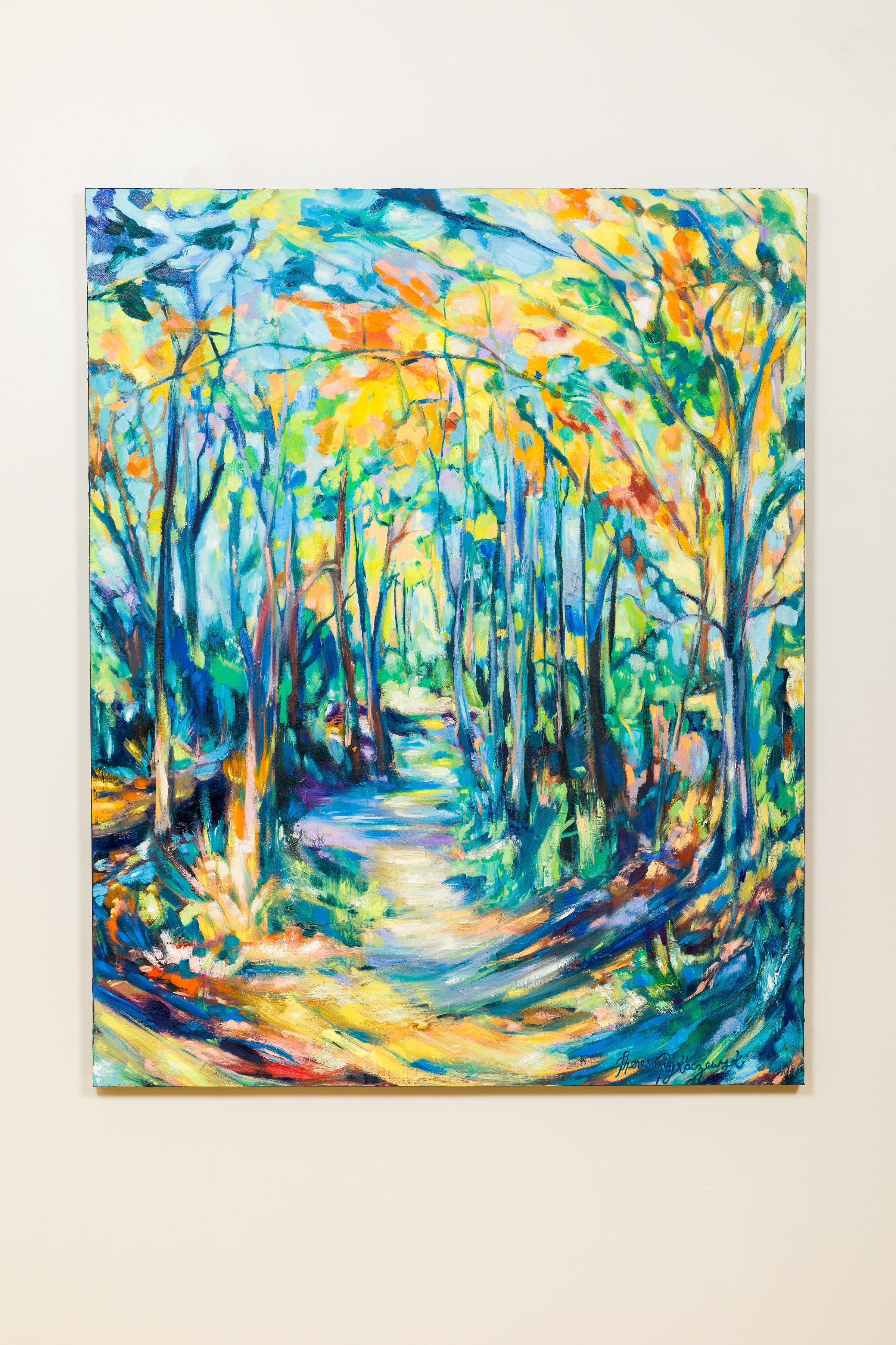 Illuminated Canopy - Theresa Rykaczewski