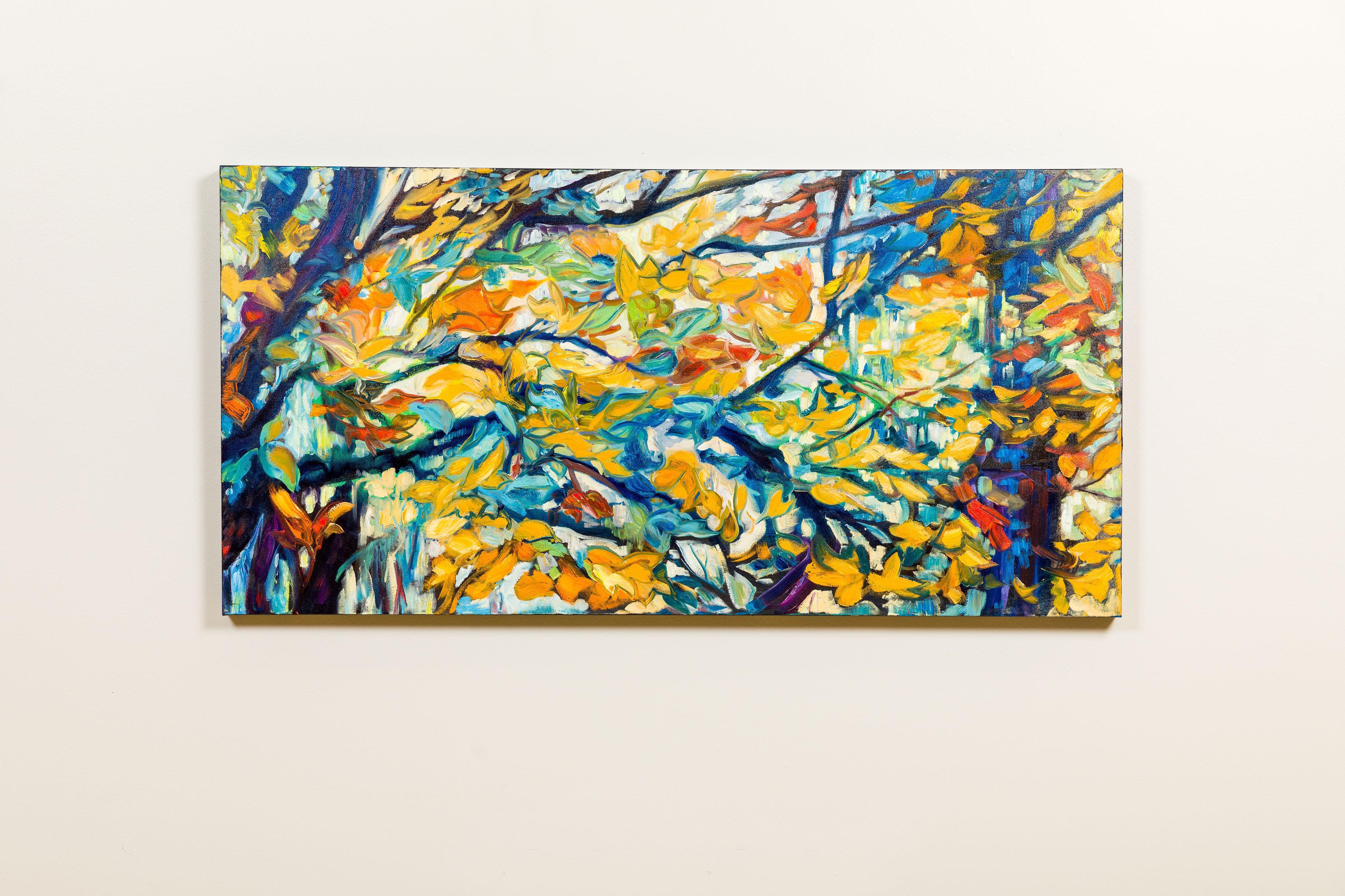 Leaf Canopy II - Theresa Rykaczewski