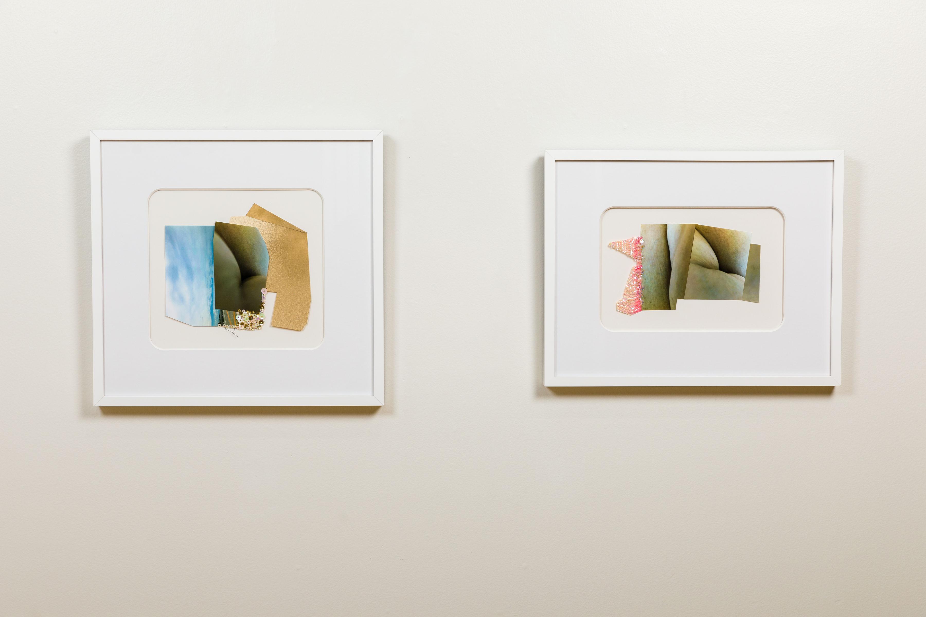Desert Dream (left) Exchange Rate (right) - Madeleine Wagner