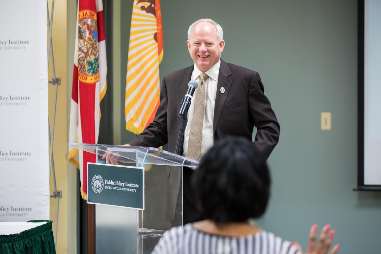 City Council President Aaron Bowman
