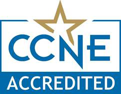 Logo for accrediting body CCNE