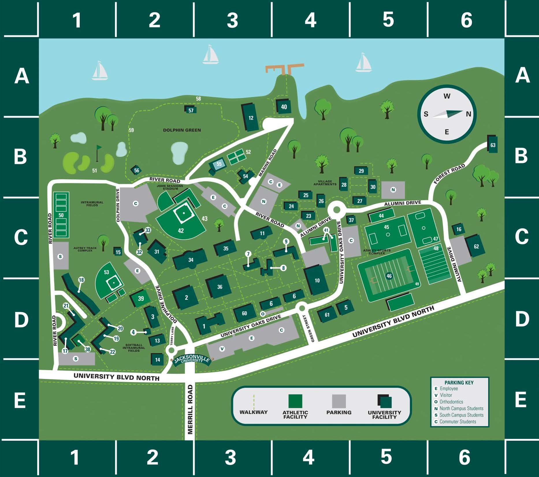 jacksonville university campus map Https Www Ju Edu Index 37907 Php Https Www Ju Edu Index Php jacksonville university campus map