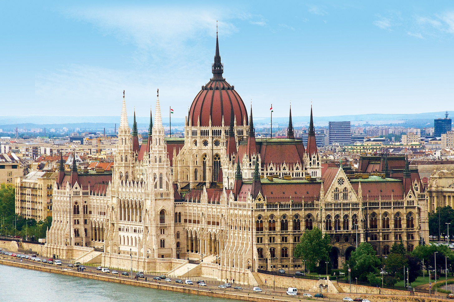 Budapest's Gothic Revival Parliament Building