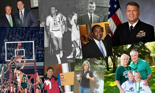 Distinguished Alumni collage