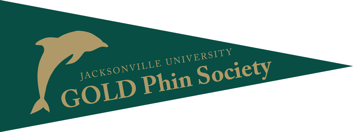 GOLD Phin Society flag