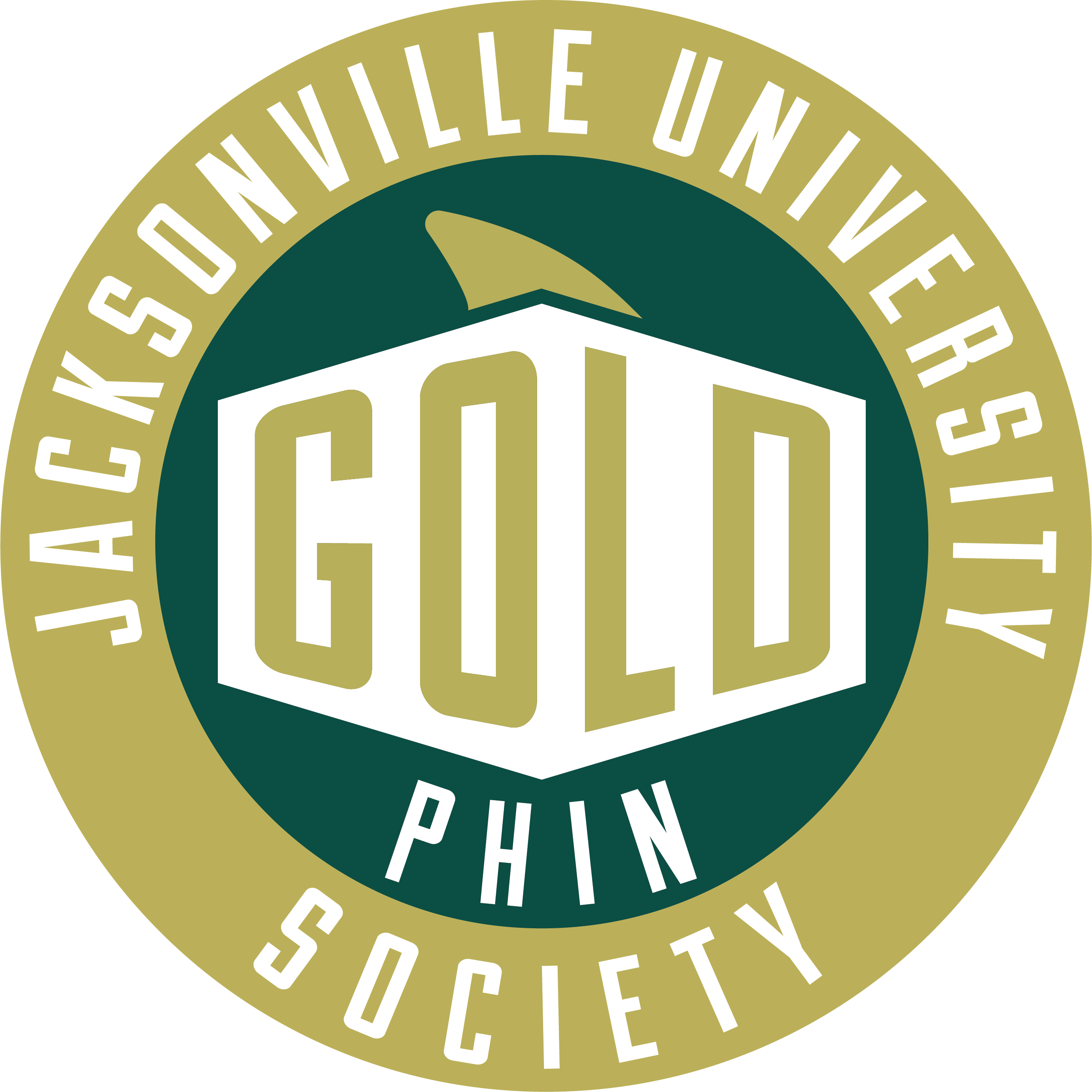 GOLD Phin Society Logo