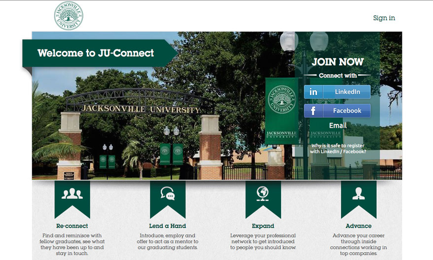 Welcome to JU Connect. Reconnect with fellow graduates, Lend a hand to students, expand your network, and advance your career.