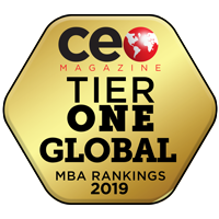 Ranking by CEO Magazine.