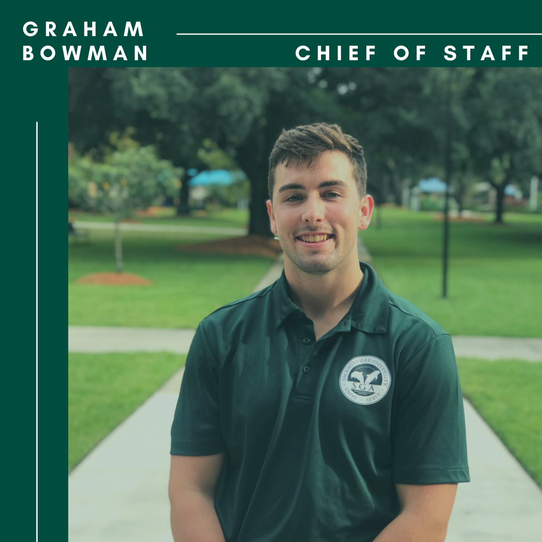 Graham Bowman SGA Chief of Staff