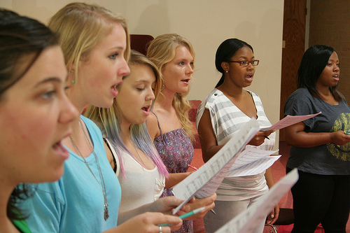 JU Choral group