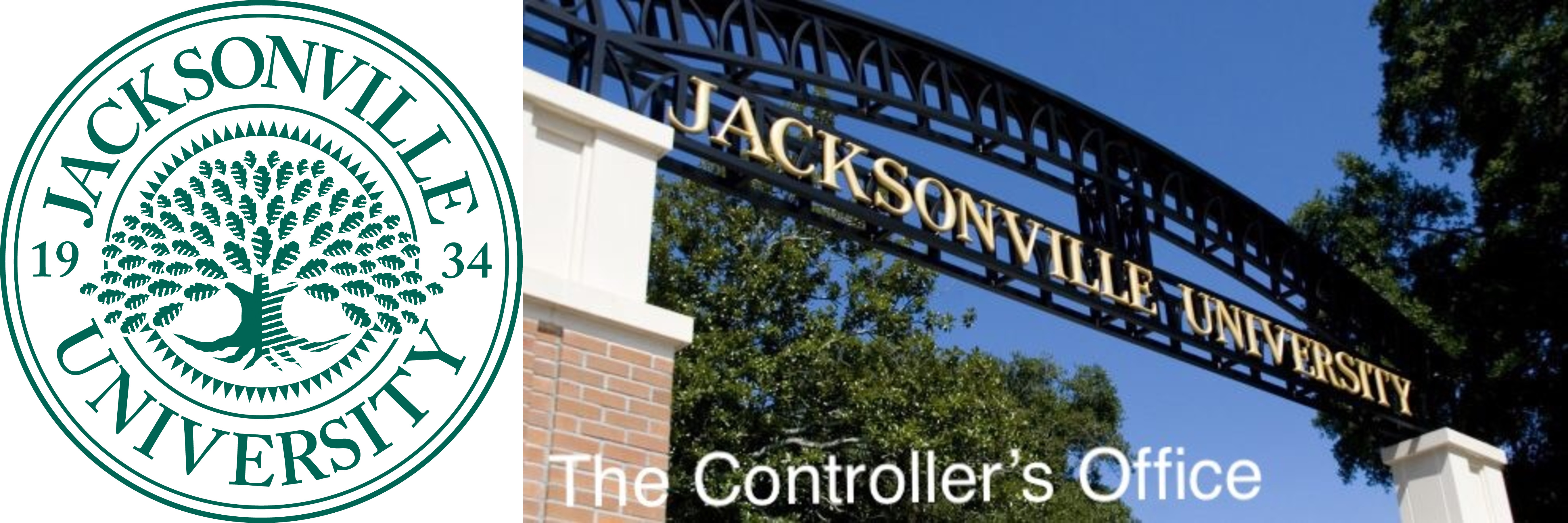 Jacksonville University Entrance, The Controller's Office