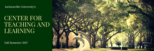 CTL header featuring a canopy of trees and dolphin statues