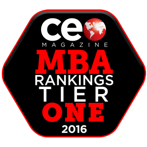 CEO Magazine MBA Rankings Tier 1