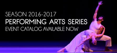 Catalog of CFA Performing Arts Series events available now.