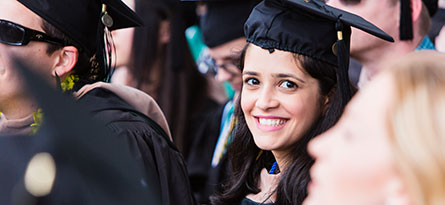 Learn about attending commencement at JU.