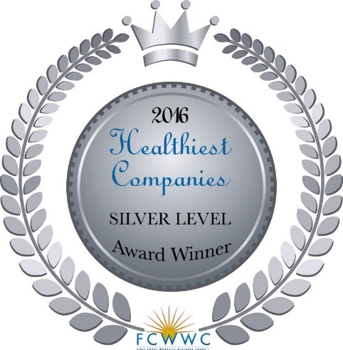 First Coast Worksite Wellness Council, Silver award for Healthiest Companies