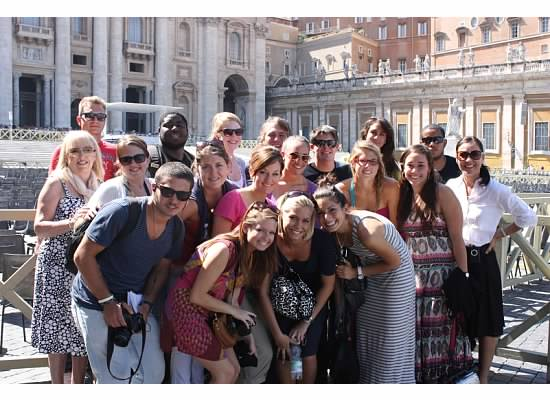 Students at the Vatican