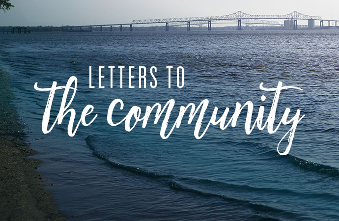Letters to the community