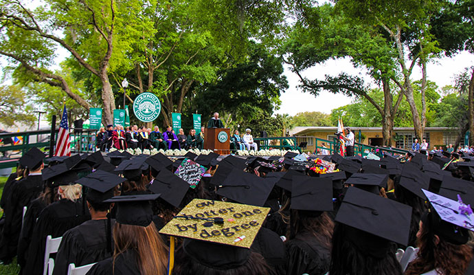 Wave article: Celebrating the largest graduating class in JU's history
