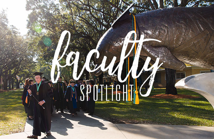Faculty spotlight header