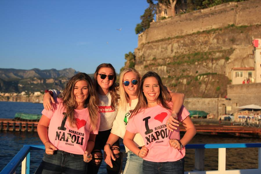 Study Abroad in Sorrento