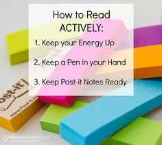 Read actively